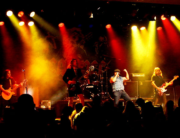 ACDC Tribute Band Brisbane - Musicians Entertainers - Hire Bands