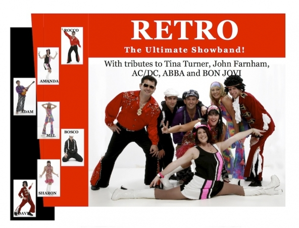 Retro Band Cover Band Perth - Musicians Singers Entertainers